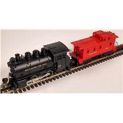 MTH B&O Locomotive and Caboose  [133049]