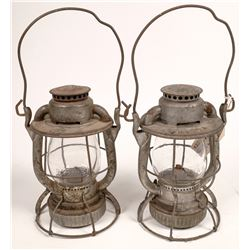 New York, New Haven, and Hartford RR Switchman's Lanterns - 2  [133372]