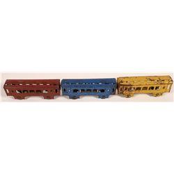 Tin Train Cars - 3  [133070]