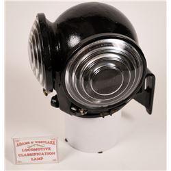 Adams & Westlake Classsification Lamp  [133363]
