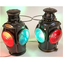 Canadian Pacific RR Rear Marker Lamps - 2  [133334]