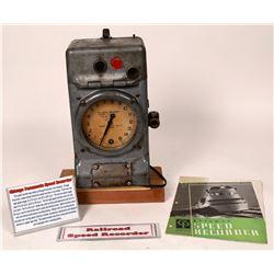 Chicago Pneumatic Speed Recorder  [133430]