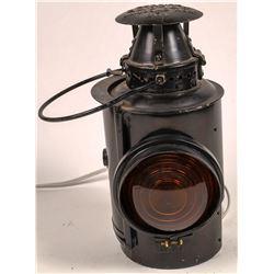 Chicago Rapid Transit Company Semaphore Lamp  [133387]
