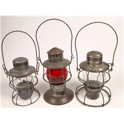 Chicago, Milwaukee, and St. Paul RR Lantern Collection - 3  [133349]