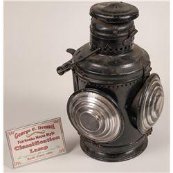 Dressel Classification Lamp for Locomotive Engine  [133362]