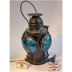 Illinois Central RR Rear Marker Lamp  [133388]