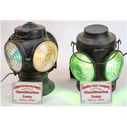 Locomotive Classification Lamps - 2  [133366]