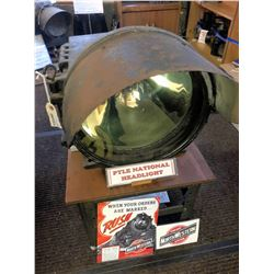 Pile National Locomotive Headlight & Ephemera [133380]
