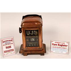 Pittsburgh Fare Register in Copper  [133468]