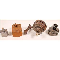 Railroad Related Kerosene Lamps  [133448]