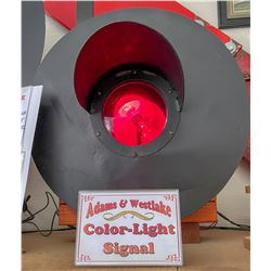 Adams Westlake Colored Light Signal  [133397]