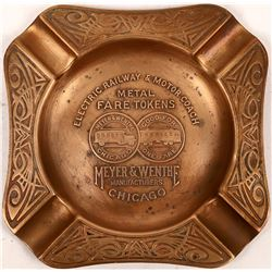 Ashtray made by the Electric Railway and Motor Coach Metal Fare Tokens Company  [133495]