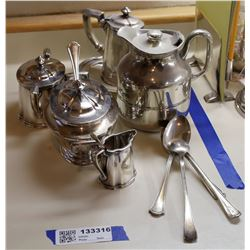Baltimore & Ohio RR Dining Car Silver Service Items  [133316]
