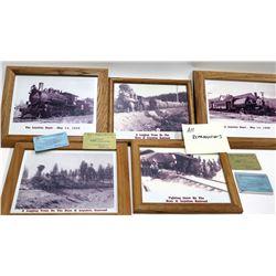 Boca and Loyalton Railway Reproduction Frame Group  [133608]