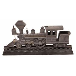Cast Iron Locomotive Desk Paper Weight  [133087]