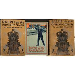 Children's Books on Railroads  [133616]