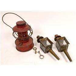 Con Ed Handlan railroad Safety Lantern  [131406]