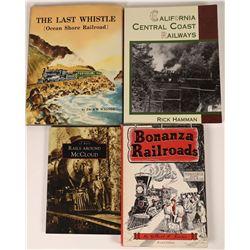 Four California Historic Railroad Publications  [123822]