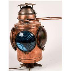 Handlan Buck Switch Stand Marker, Copper-Plated [133371]