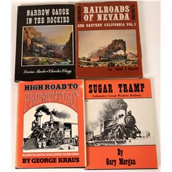 Historic and Important Western Railways Publications – Lot of 4  [123818]