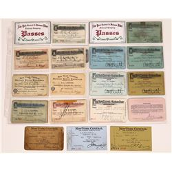 New York Central and Hudson River Pass Collection  [133450]