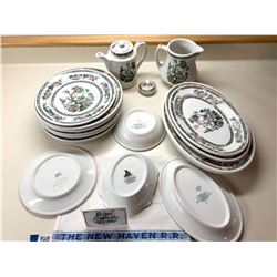 New York, New Haven, and Hartford RR Dining Car China  [133302]