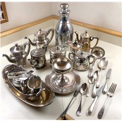 New York, New Haven, and Hartford RR Dining Car Silver Service Items  [133301]