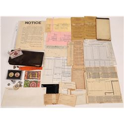 Pacific Electric RY Ephemera Collection  [133460]