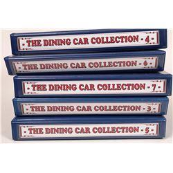 Railroad Dining Car Menu Collection  [133308]