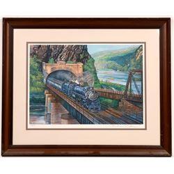 Railroad Prints by Theodore Xaras, 1980 - 4  [133650]