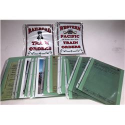 Railroad Train Orders  [133484]