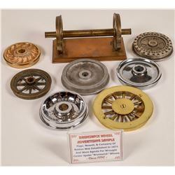 Railroad Wheel Advertising Samples Collection - 8  [133424]
