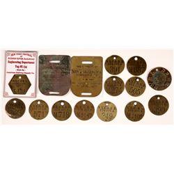 RR Brass Tags  [133451]