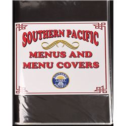 RR Menu Books from SP, UP, and Amtrak  [133455]