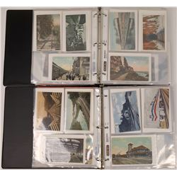 Railroad Post Card Collection (about 347 cards)  [131758]