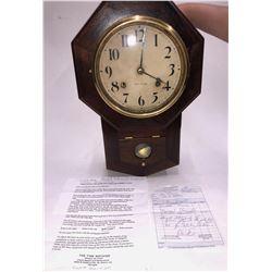 Seth Thomas Wall Clock for RR  [133646]