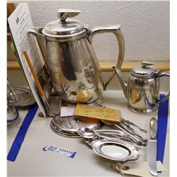 Southern Pacific RR Dining Car Silver Service Items - 12  [133312]