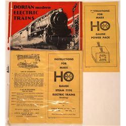 Toy Train Catalogs  [131546]