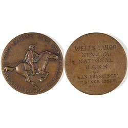 Pony Express Race 1923 Medal  [129273]