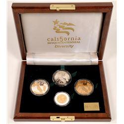 California Sesquicentennial Diversity Box Set Medals  [129248]