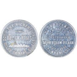 Black Hills Mountain Plain Festival token  [129876]