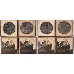 Lusitania German Medals in Original Box, English Version  [129292]