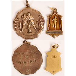 2 Boxing Medallions  [129841]