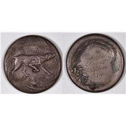Westminster Kennel Club: 1914 Silver Award Medal.  [131241]