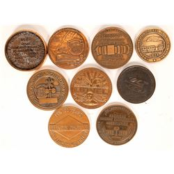 Railroad & Manufacturing Commemorative Medals Collection  [131269]