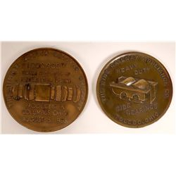 Railroad Equipment Medals - 2  [131319]
