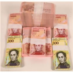 Venezuela Currency lot. Wow!  [131402]