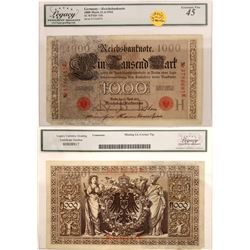 German Reichs Bank Note   [129872]