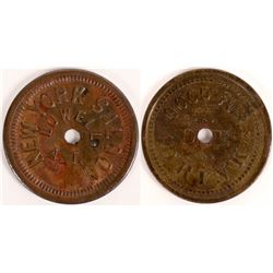 Lowell, A.T.: New York Saloon Token  [129821]