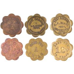 Tombstone, AZ: Pony Saloon Token Set  [129818]